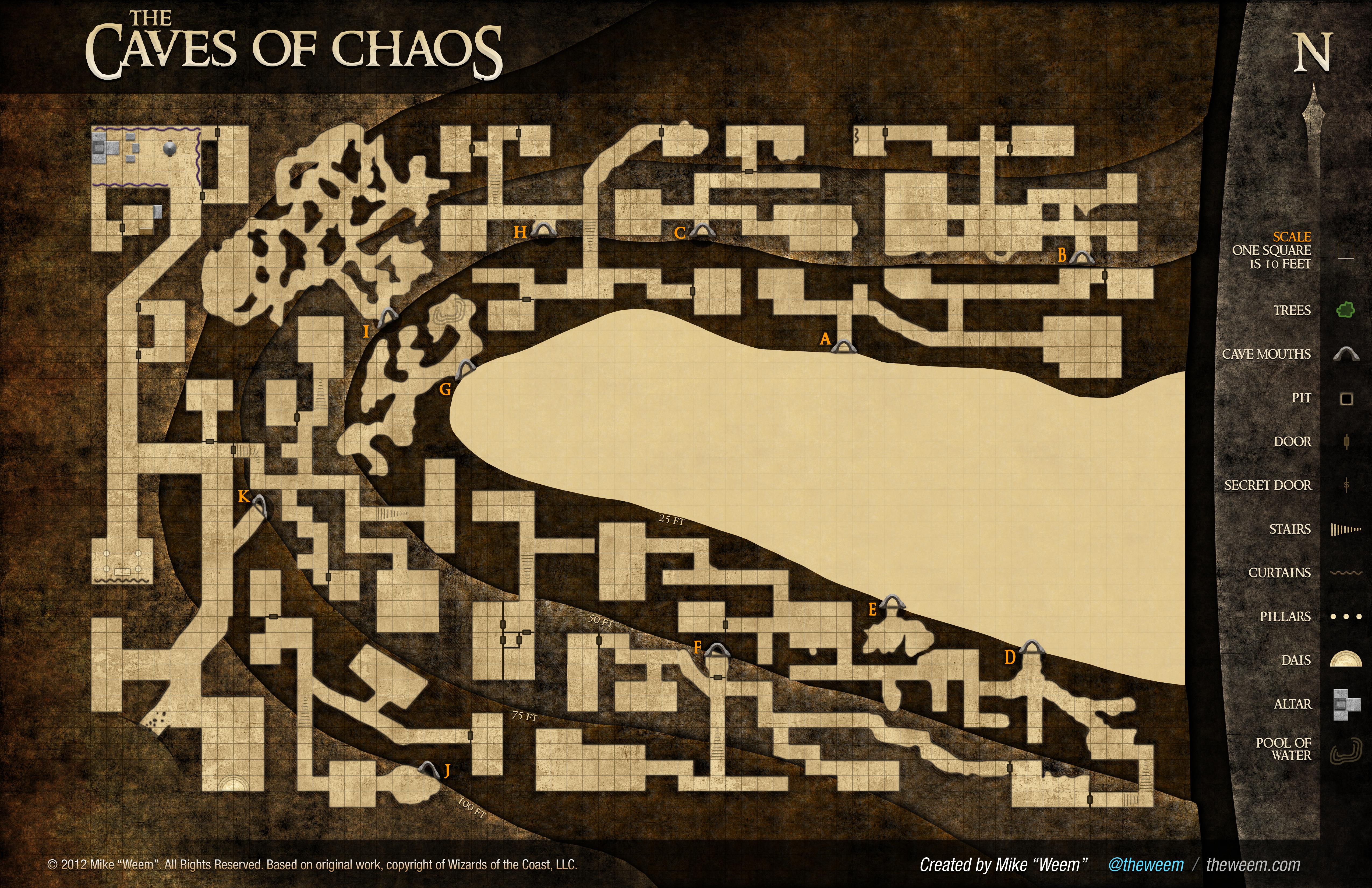 Caves of Chaos Reimagined by Weem – Weem on
