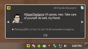 TweetDeck Notification