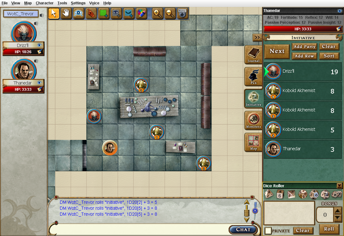The Dungeons Dragons Virtual Table Announcement Weem