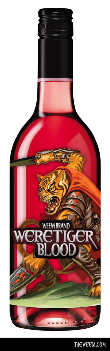 Tigerblood? How About Weretiger Blood!