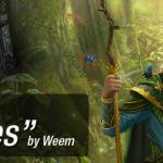 """Elf Druid"" by 1oshuart (DeviantArt)"