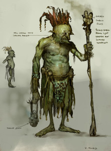 This could be what a River Goblin looks like